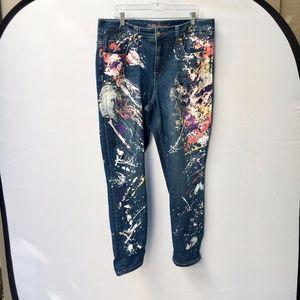 MELISSA McCarthy Skinny Seven7 Jeans Size 16w